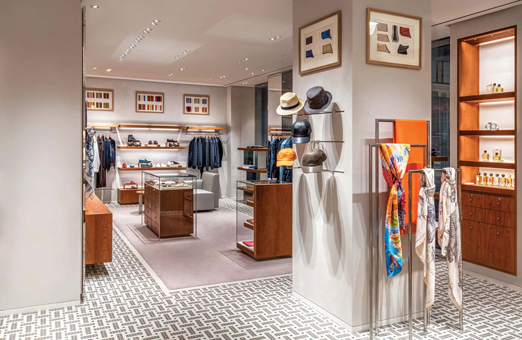 Construction Company Sydney Retail fit-out Hermes 62