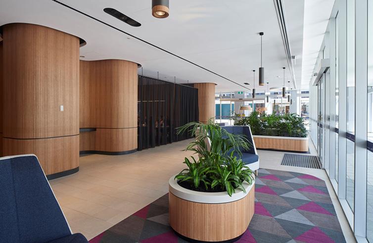 Construction Company Sydney Workplace Office Building Refurbishment fit-out Dexus5