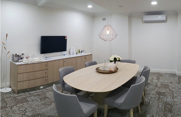 Construction Company Sydney healthcare Refurbishment fit-out Invocare3
