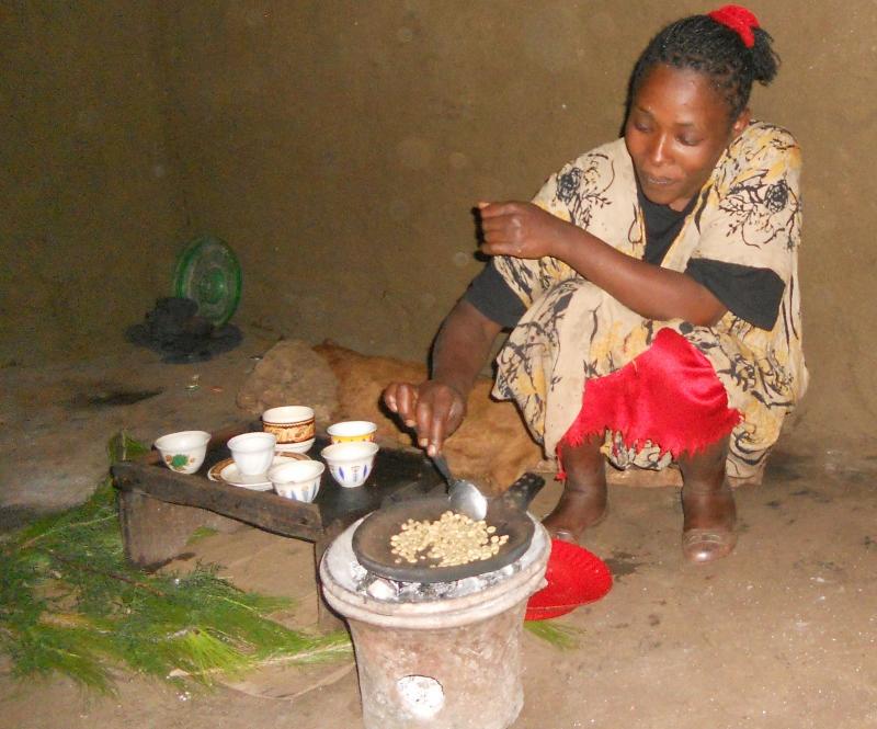 La cerimònia del cafè / La ceremonia del café etiopia