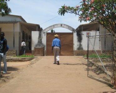 El hospital de «Nossa Senhora da Paz» de la misión de Cubal, Angola