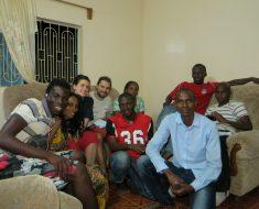 La Joie des Orphelins con Diande Africa