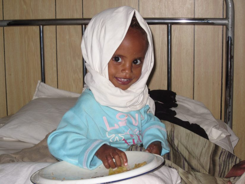 Ruziya. Iñaki Alegria. Etiopía. Niños. Desnutrición. Marasmo