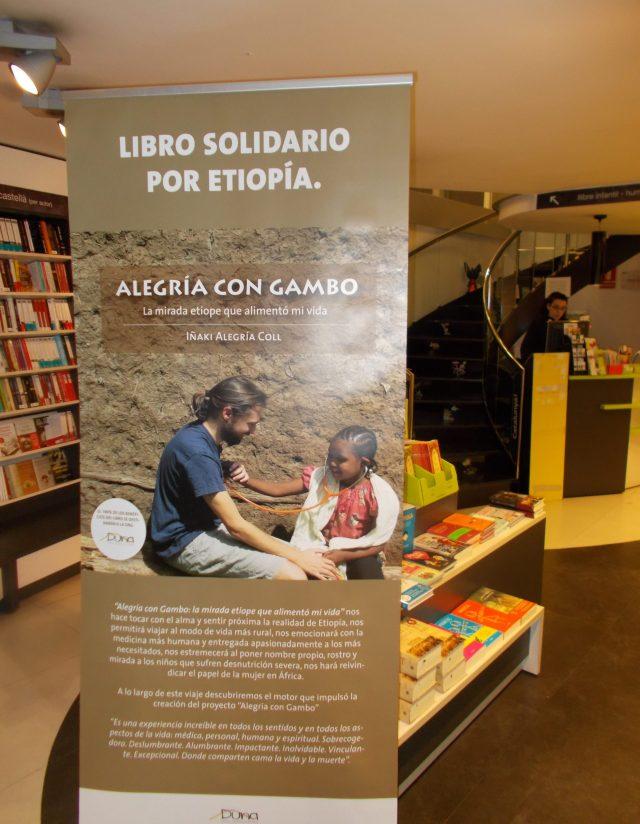 Muchas gracias por vuestra asistencia y compañía en la presentación en la librería Claret africa alegria gambo etiopia