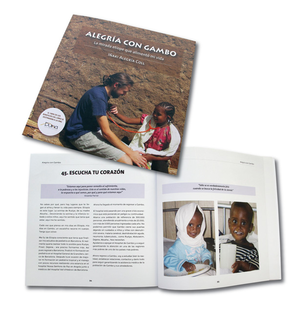 Gracias a vuestro apoyo os presentamos la 3ª edición del libro  ALEGRÍA CON GAMBO: La mirada etíope que alimentó mi vida africa alegria gambo