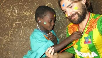 Trabajando con la humildad de un sirviente africa alegria gambo alegria sin fronteras etiopia gambo