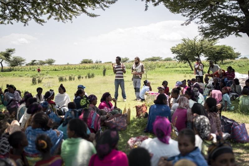 Combatiendo la hambruna en Etiopía empoderando la comunidad