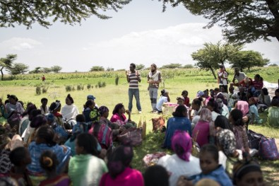 Empoderando a la comunidad rural: Desarrollo del proyecto de emergencia nutricional en Etiopía africa alegria gambo alegria sin fronteras