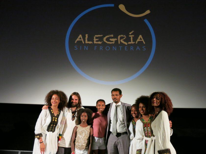 Opening Speech from Ethiopian Embassy africa alegria gambo alegria sin fronteras dr alegria