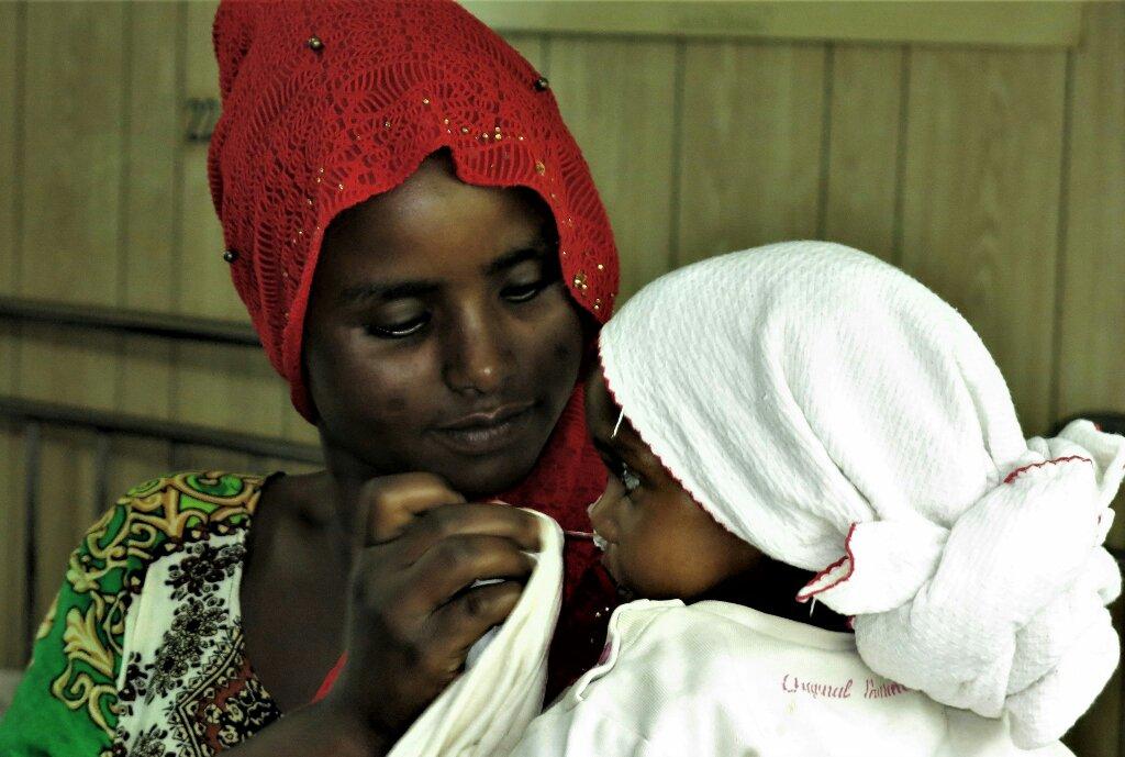 Un nuevo llanto de esperanza africa alegria gambo alegria sin fronteras etiopia