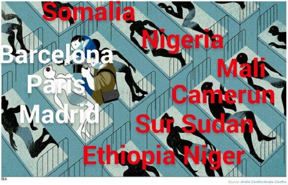 Las invisibles víctimas del silenciado terrorismo en África, todo por hacer africa alegria gambo alegria sin fronteras