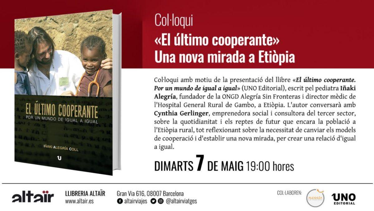 Coloquio presentación en librería Altaïr Martes 7 de Mayo a las 19h africa alegria gambo alegria sin fronteras dr alegria etiopia gambo
