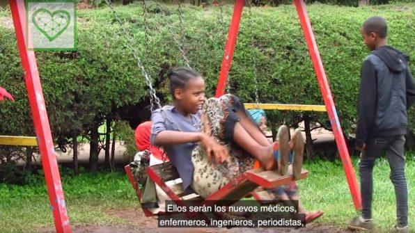 El milagro de Teaming, el Ubuntu del siglo XXI africa alegria gambo alegria sin fronteras dr alegria etiopia gambo