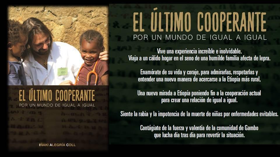 Sábado 25 en Getxo: Presentación del libro El último cooperante africa alegria gambo alegria sin fronteras etiopia
