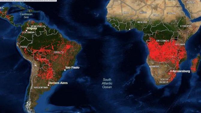 África arde más que el Amazonas, pero lo ignoramos africa etiopia