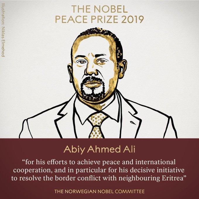 Nobel Peace Prize 2019: Dr Abiy Ahmed Ali, Ethiopian PM