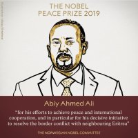 """For me, nurturing peace is like planting and growing trees"" Abiy Ahmed, Nobel Peace Prize Lecture"