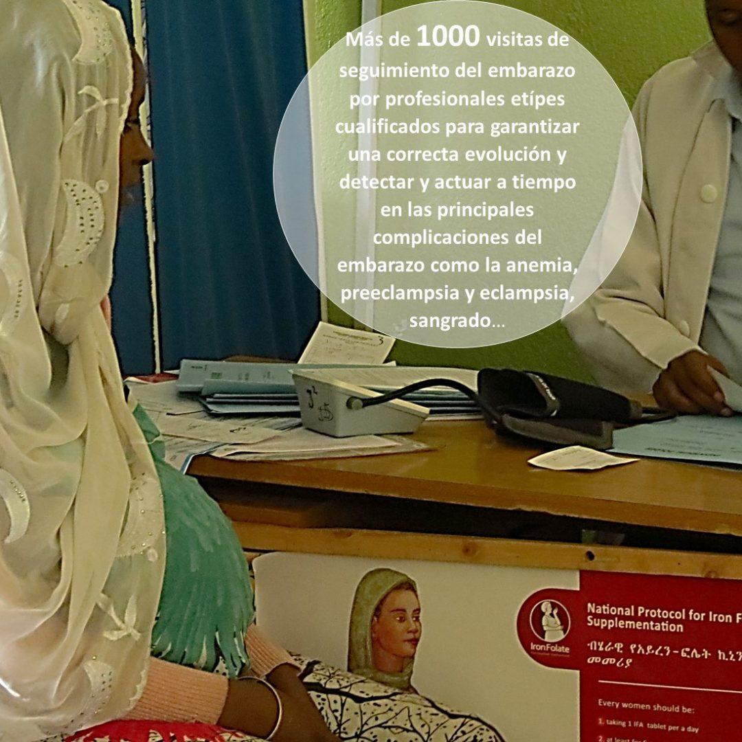 Apostamos por la excelencia y el liderazgo de las matronas etíopes para disminuir la mortalidad materna y neonatal