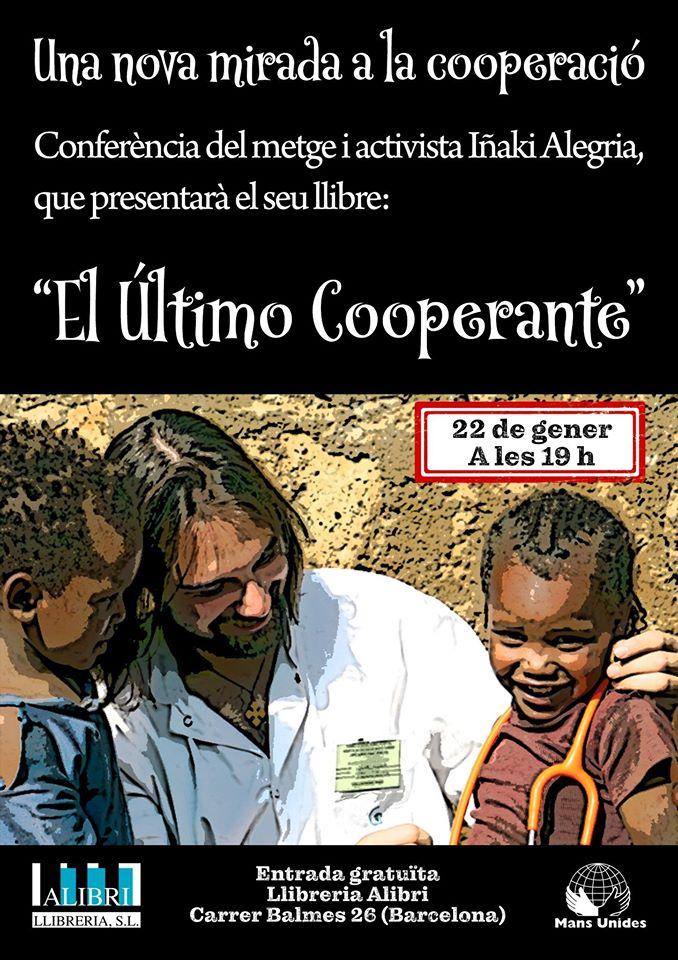 """Presentamos el libro en Barcelona: """"El último cooperante"""""""