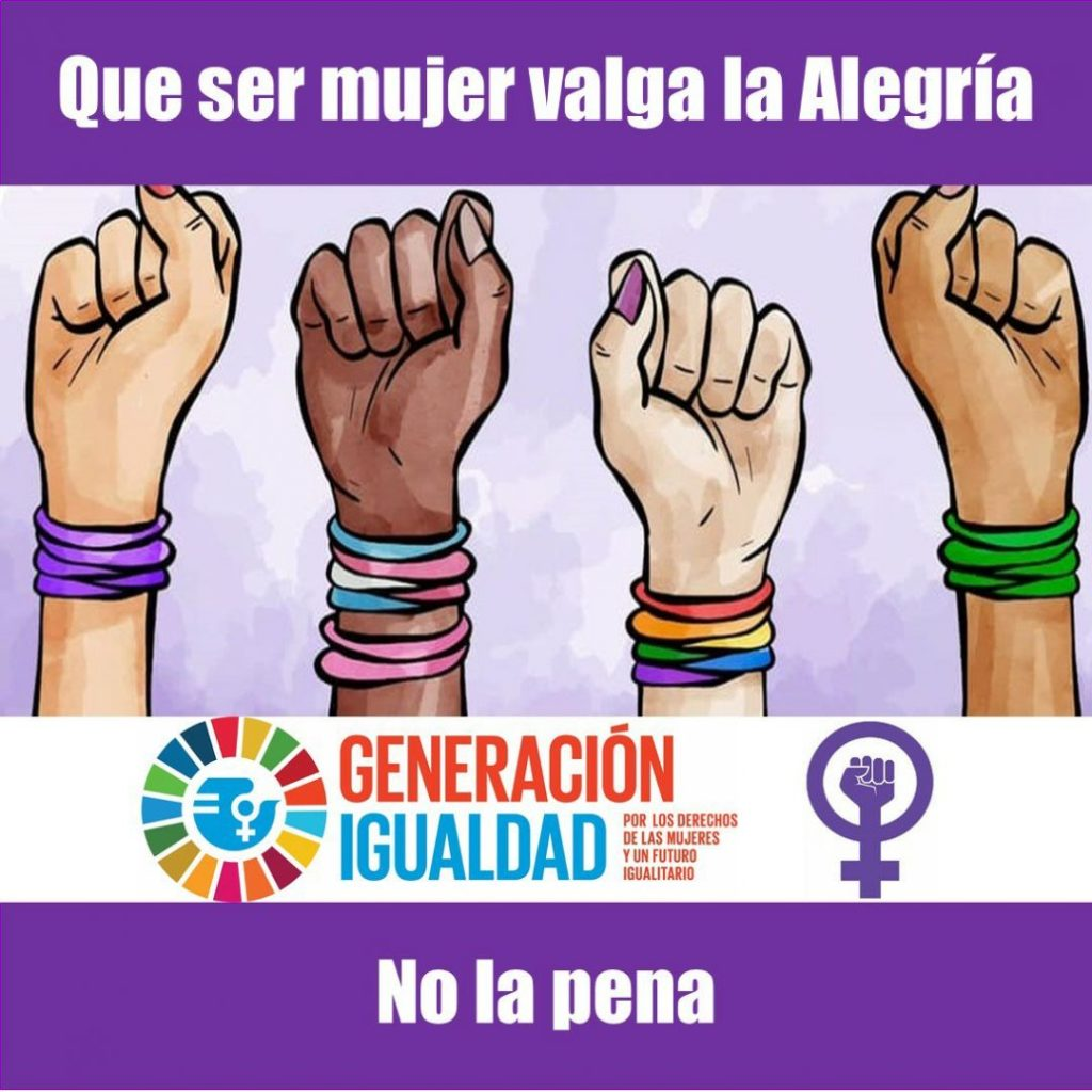 International Women's Day alegria gambo alegria sin fronteras