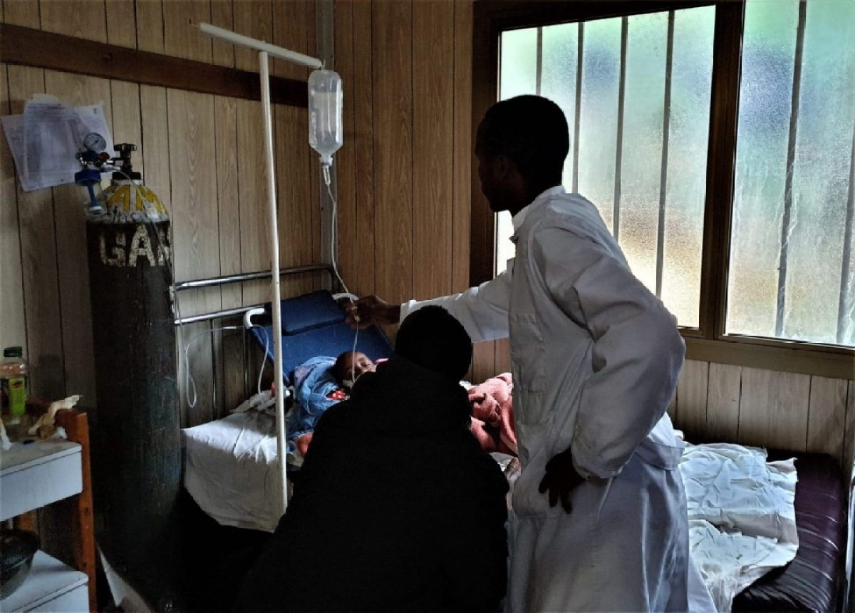 En reconocimiento a la enorme labor del personal sanitario etíope que está combatiendo la epidemia de Sarampión en Etiopía africa alegria gambo alegria sin fronteras