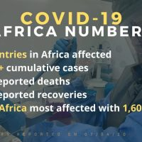 COVID 19 Africa Numbers