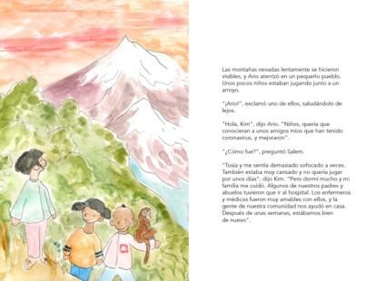 Lee y descárgate gratis el cuento infantil para luchar contra la COVID19: Mi héroe eres tú africa