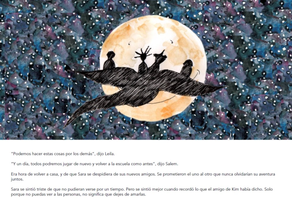 Mi héroe eres tú - El cuento infantil para ayudar a hacer frente a la pandemia de COVID-19 africa
