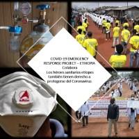 Colabora: Los héroes sanitarios etíopes también tienen derecho a protegerse del Coronavirus