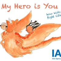 My hero, Children's story book to help children and young people cope with COVID-19