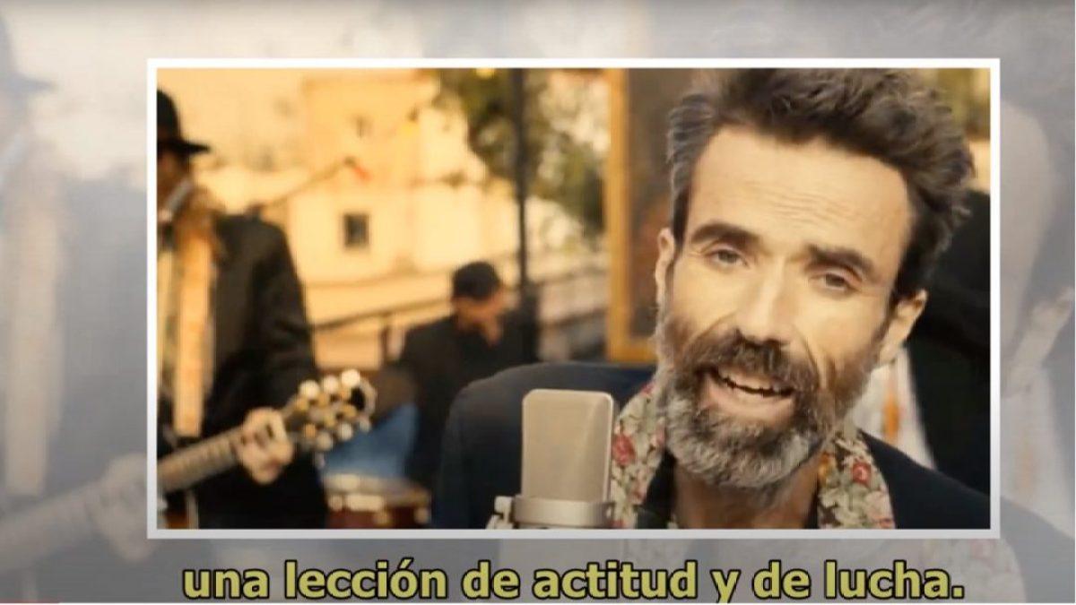Pau Donés, voz de Jarabe de Palo, Te estaré siempre Agradecido africa