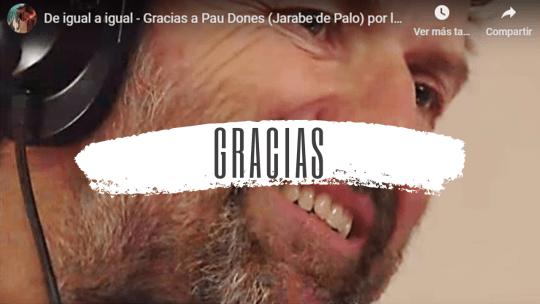 Descubre al Pau Donés más solidario. Gracias Pau, la voz de Jarabe de Palo, por esta canción africa