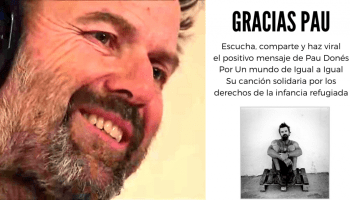 GRACIAS Pau Donés, la voz de Jarabe de Palo, te estaré siempre agradecido africa