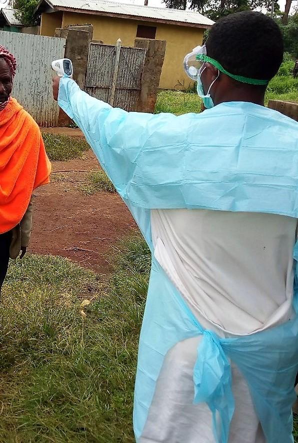 COVID19 en el hospital de Gambo, Etiopía africa