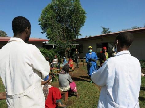 El personal sanitario etíope también necesita su EPI y mascarilla para protegerse del Coronavirus africa