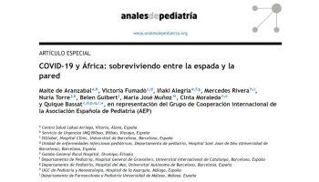 ¿Está España al borde de una crisis de la salud pública? africa