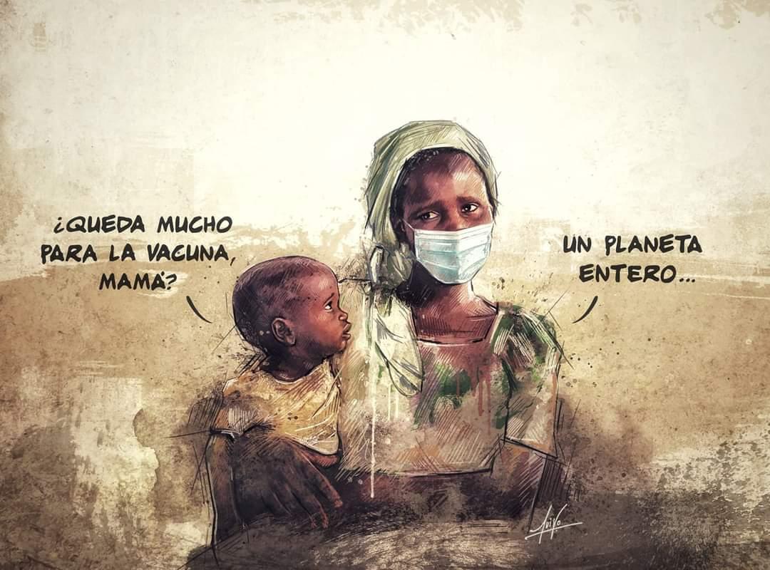 ¿Queda mucho para la vacuna? africa
