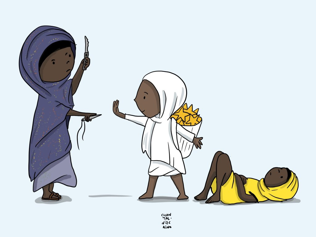 El Hospital General Rural de Gambo dice NO a la Mutilación Genital Femenina MGF actualidad derechos humanos mujer mutilacion genital femenina