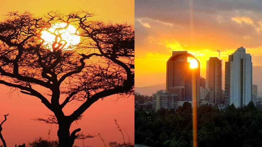 Imagina un amanecer en África actualidad cambio climatico Racismo