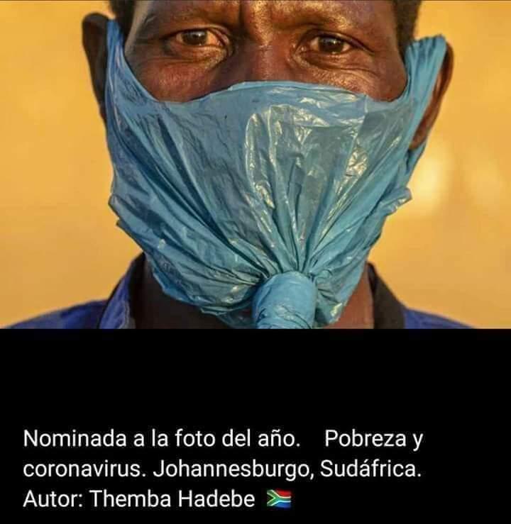 La Foto premiada, la persona sin mascarilla, ni vacuna, ni derechos actualidad Racismo Vacuna Covid19