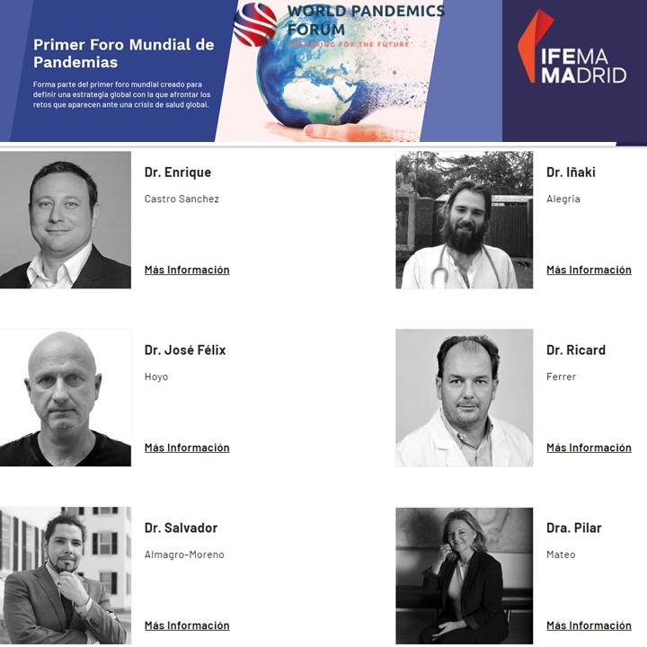 Feliz de poder participar en el primer foro mundial de Pandemias actualidad Vacuna Covid19