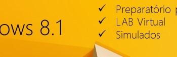 Turma de Configurando Windows 8.1 iniciando no dia 06/05/2014