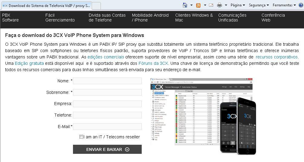 3CX+Pabx+Ip+Windows+Formulario+Download