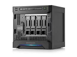 Servidor HP modelo HP ProLiant MicroServer
