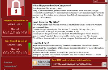 WanaCrypt0r, previna-se contra esse terrível ransomware