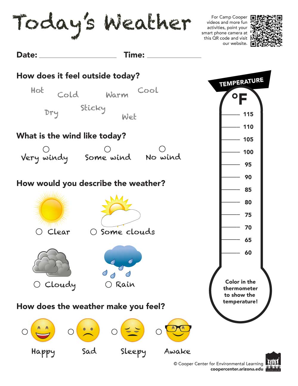 hight resolution of Weather Wise - Camp Cooper Online Environmental Learning Activites for K - 5th  Grade   Cooper Center