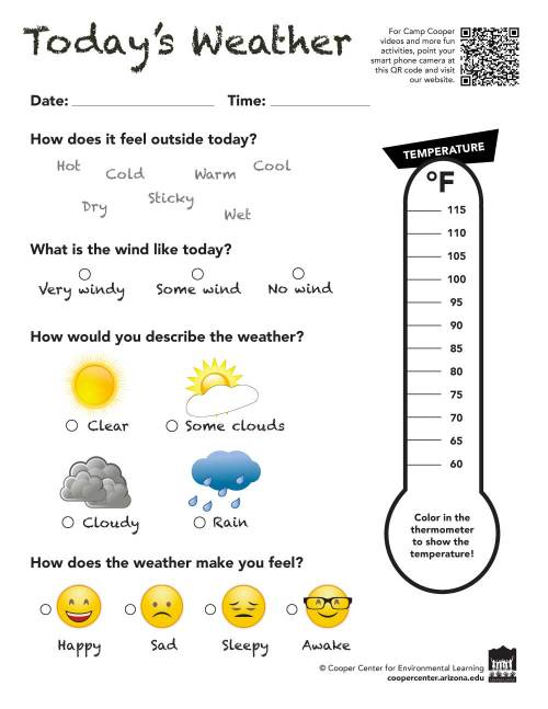 small resolution of Weather Wise - Camp Cooper Online Environmental Learning Activites for K - 5th  Grade   Cooper Center