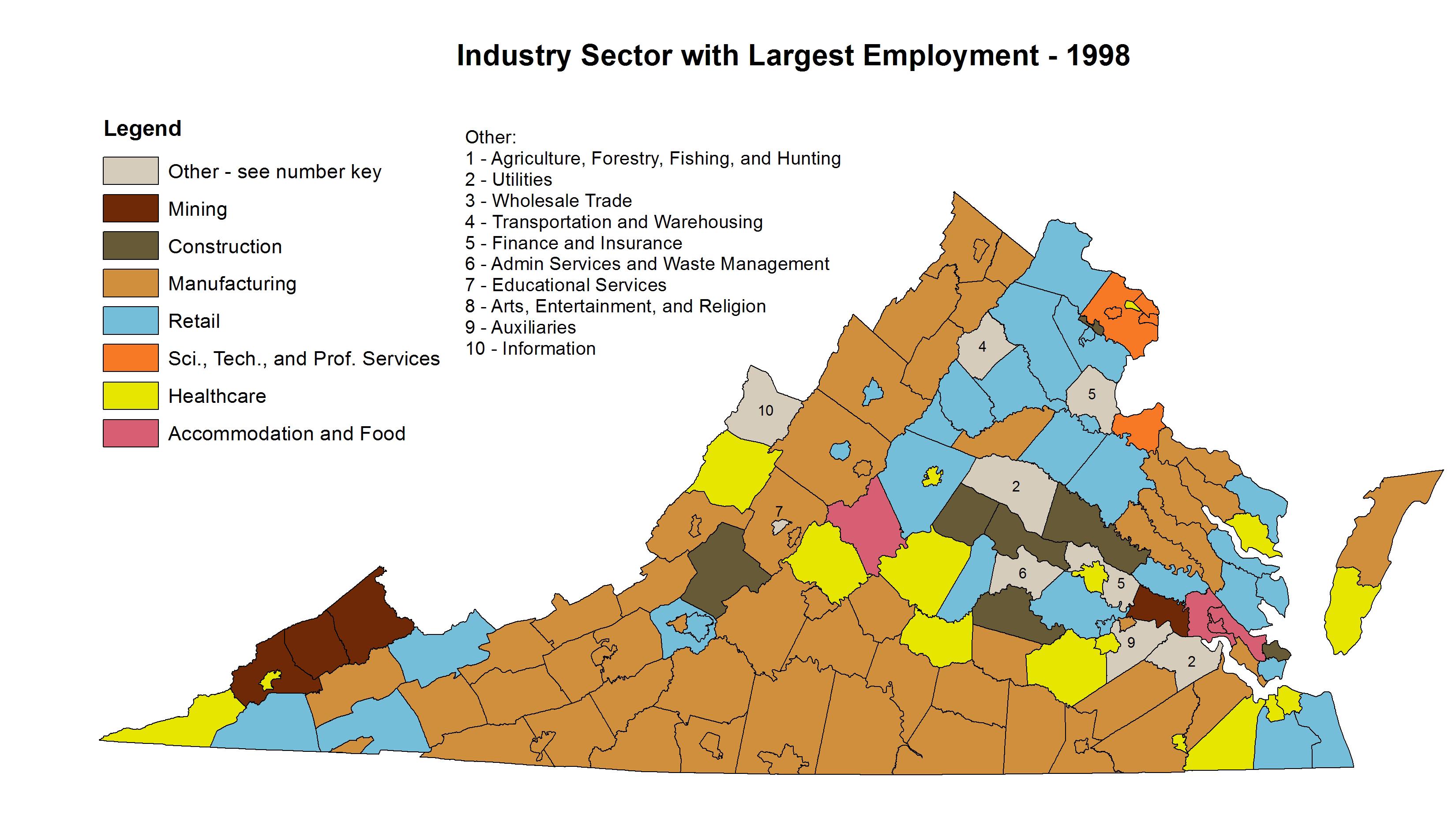 Virginia S Changing Economy