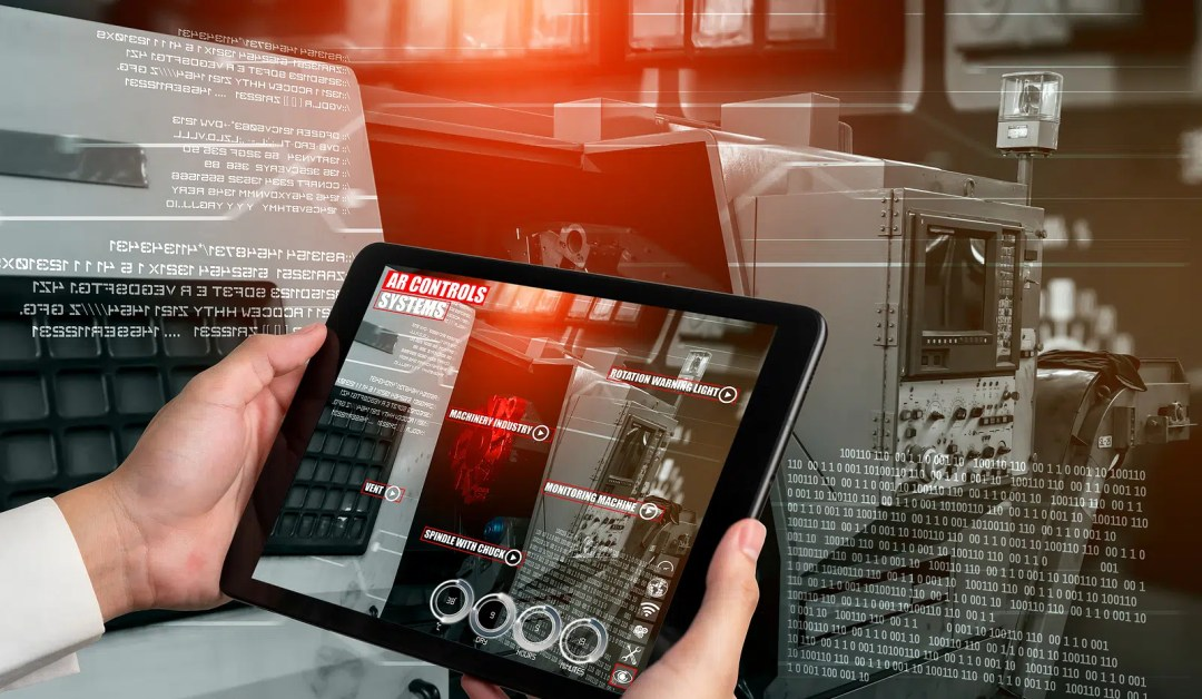 Engineer use augmented reality software  by Cooper DuBois Portland