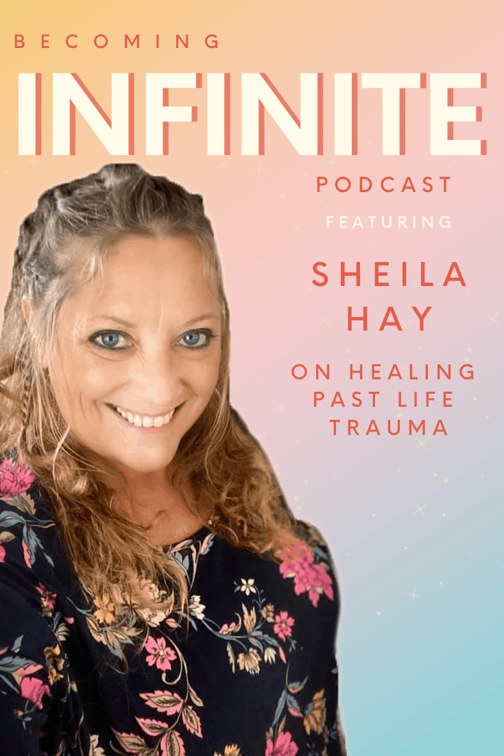Healing Past Life Trauma with Sheila Hay via @therealcoopergillespie